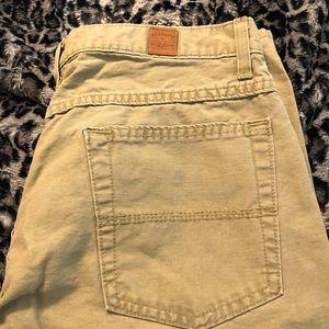 EUC Men's Bill's Khakis casual world pants 34x30